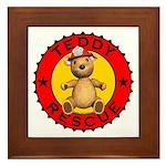 Teddy Bear Rescue Framed Tile