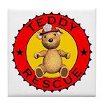Teddy Bear Rescue Coaster Tile