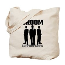Groom Support Crew Tote Bag