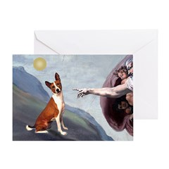 Creation of the Basenji Greeting Card