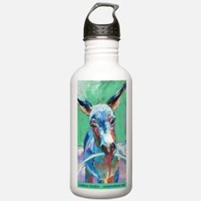 Donkey Playing W/hoop Stainless Water Bottle 1.0l