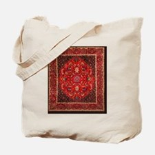 Persian Mashad Rug Tote Bag