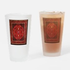 Persian Mashad Rug Drinking Glass