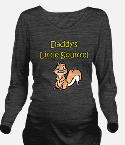 DADDY'S LITTLE SQUIRREL Long Sleeve Maternity T-Sh