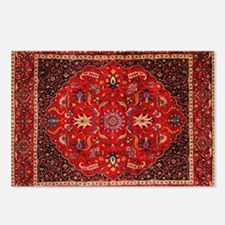 Persian Mashad Rug Postcards (Package of 8)
