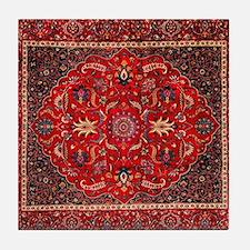 Persian Mashad Rug Tile Coaster
