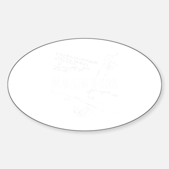 chaosme Sticker (Oval)