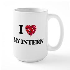 I Love My Intern Mugs