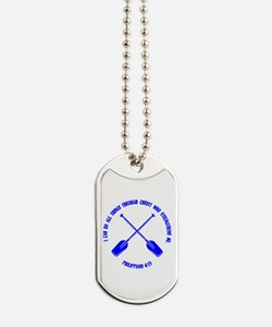 PHILIPPIANS 4:13 Dog Tags