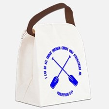 PHILIPPIANS 4:13 Canvas Lunch Bag