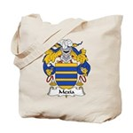 Mexia Family Crest Tote Bag