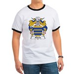 Mexia Family Crest Ringer T