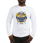 Mexia Family Crest Long Sleeve T-Shirt