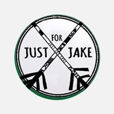 Just For Jake Logo - Green Button