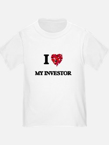 I Love My Investor T-Shirt