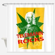 Funny Bach Shower Curtain