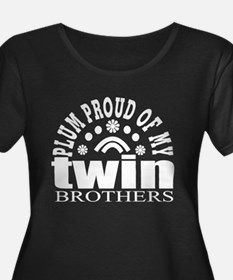 twin brothers Plus Size T-Shirt