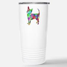 Multi Color Chihuahua Travel Mug