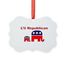 LIL REPUBLICAN Ornament