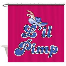 L'IL PIMP Shower Curtain