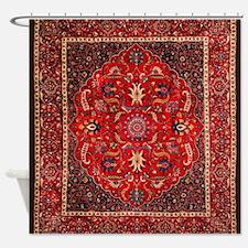 Persian Mashad Rug Shower Curtain
