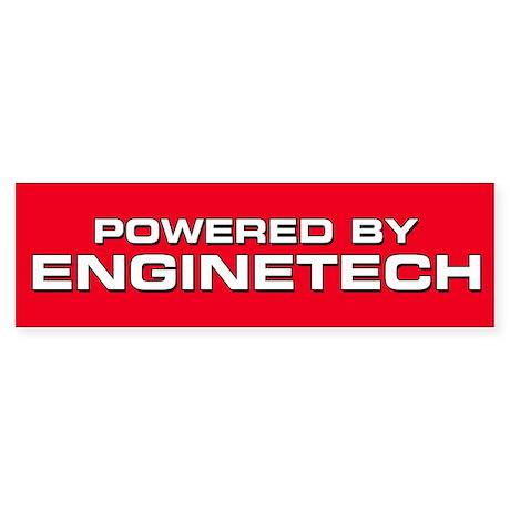Powered By Enginetech Bumper Sticker