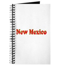 New Mexico Red Cool Pattern Jerry's Fave Journal