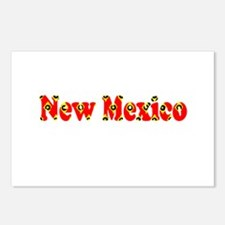New Mexico Red Cool Patte Postcards (Package of 8)