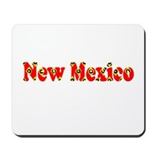 New Mexico Red Cool Pattern Jerry's Fave Mousepad