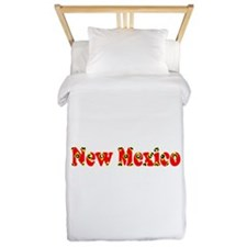 New Mexico Red Cool Pattern Jerry's Fav Twin Duvet
