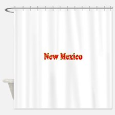 New Mexico Red Cool Pattern Jerry's Shower Curtain