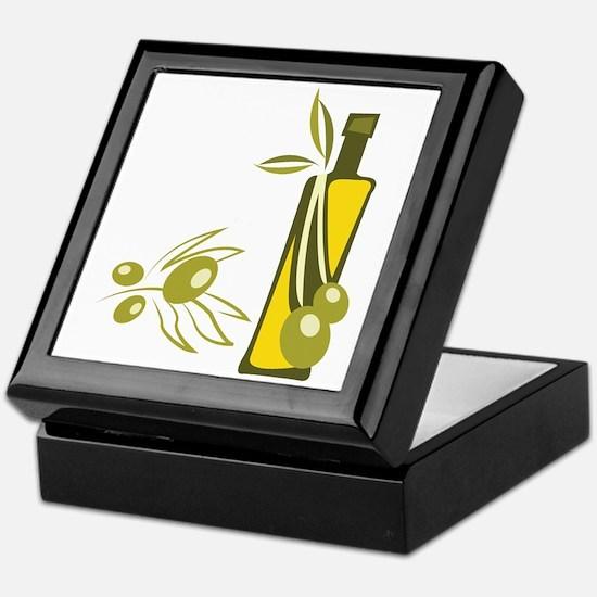 Olive Oil Keepsake Box
