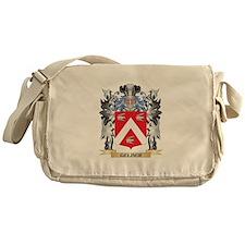 Gelber Coat of Arms - Family Crest Messenger Bag