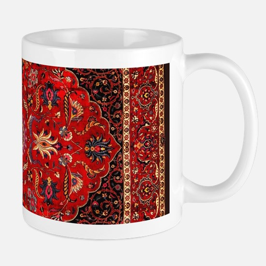 Persian Mashad Rug Mugs