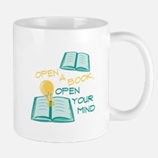 Open A Book Mugs