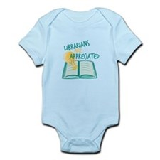 Librarians Are Appreciated Body Suit