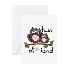 Two Of A Kind Greeting Cards