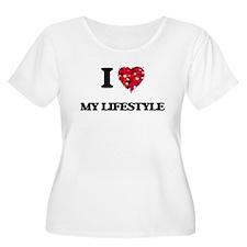 I Love My Lifestyle Plus Size T-Shirt