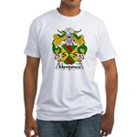 Mendonca Family Crest Fitted T-Shirt