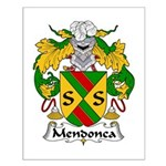 Mendonca Family Crest Small Poster