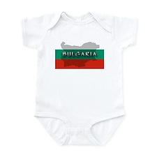 Bulgaria Flag Extra Infant Bodysuit