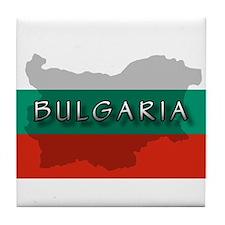 Bulgaria Flag Extra Tile Coaster
