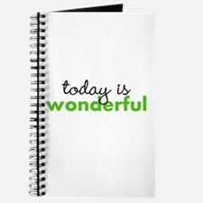 Today Is Wonderful Journal