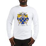 Mena Family Crest Long Sleeve T-Shirt