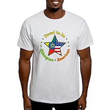 Cute Ethiopian flag T-Shirt