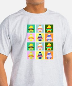 Pop Art Sock Monkey T-Shirt