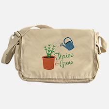Thrive & Grow Messenger Bag