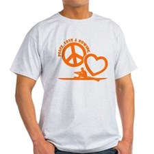 PEACE-LOVE-ROWING T-Shirt
