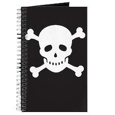 Classic Pirate Skull Journal