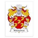 Medeiros Family Crest Small Poster